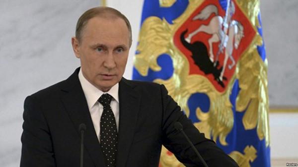 Tổng thống Nga Vladimir Putin. Ảnh:Reuters