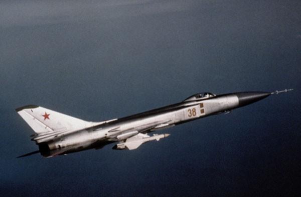 Một chiếc Su-15 của Lực lượng Phòng không Liên Xô. Ảnh:Wikipedia.
