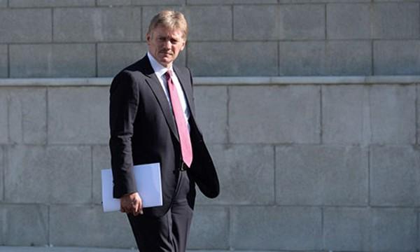 Thư ký báo chí của Tổng thốngPutin, ông Dmitry Peskov. Ảnh:AFP