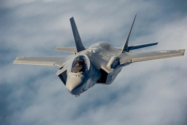 Máy bay F-35A của Không quân Mỹ. Ảnh:Wikipedia.