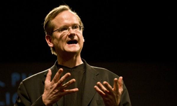 Giáo sư Larry Lessig. Ảnh:The Atlantic