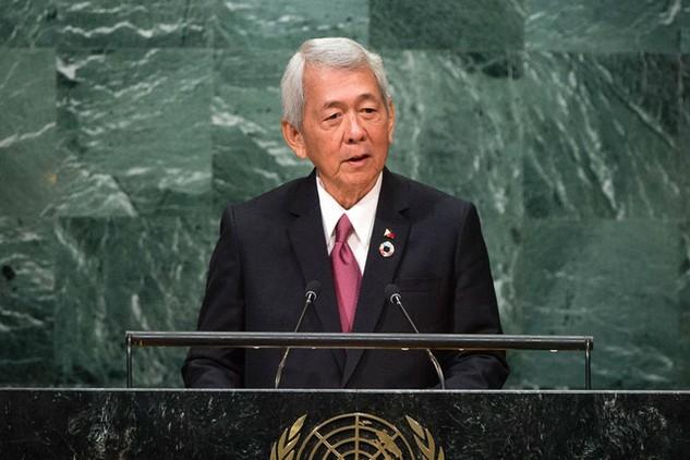Ngoại trưởng Philippines Perfecto Yasay (Ảnh: UN)