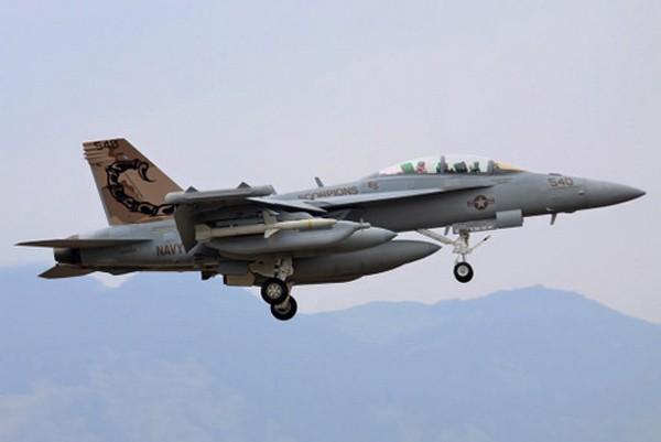 Tiêm kích EA-18G của Phi đoàn số 132. Ảnh:Photobucket.