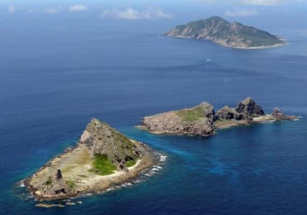 Chuỗi đảo Senkaku/Điếu Ngư là tâm điểm tranh chấp từ lâu giữa Nhật và Trung Quốc. Ảnh:Reuters