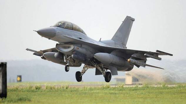Mẫu KF-16 của Không quân Hàn Quốc. (Ảnh: PA)