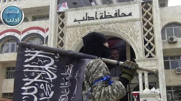 Jabhat Fateh al-Sham (tên trước đây là al-Nusra Front) từng là một chi nhánh của tổ chức khủng bố al-Qaeda. Ảnh:AP