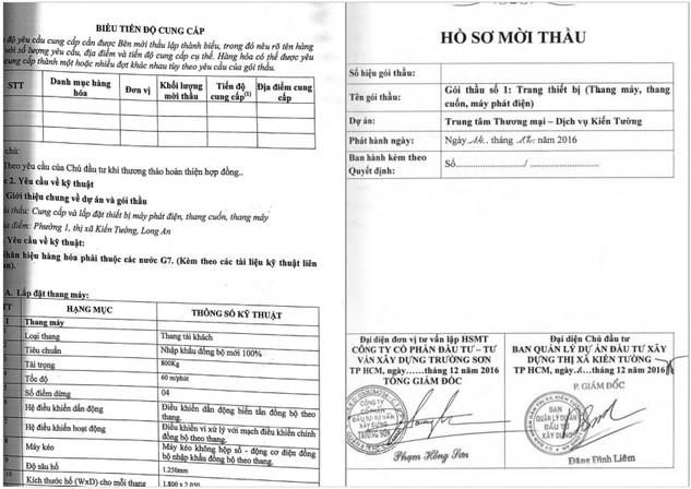 Nhà thầu phản ánh HSMT đưa ra các yêu cầu làm hạn chế việc sử dụng hàng Việt trong đấu thầu (Ảnh nhà thầu cung cấp)