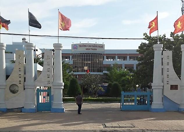 Trường Cao đẳng nghề Ninh Thuận đang né tránh trách nhiệm trong việc trốn bán HSMT cho nhà thầu và đổ lỗi cho tư vấn? (Ảnh nhà thầu cung cấp)