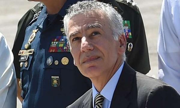 Cựu đại sứ Mỹ ở Philippines Philip Goldberg. Ảnh:AFP