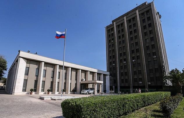 Đại sứ quán Nga tại Syria (Ảnh: TASS)