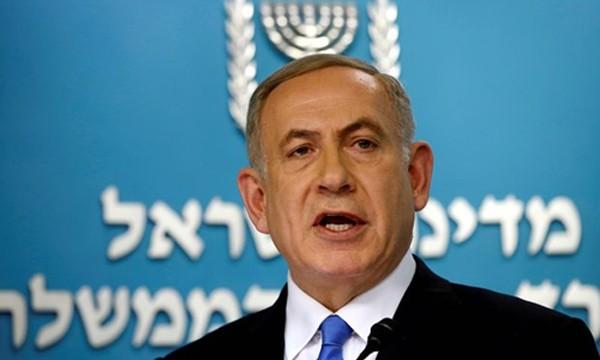 Thủ tướng Israel Benjamin Netanyahu. Ảnh:Reuters.