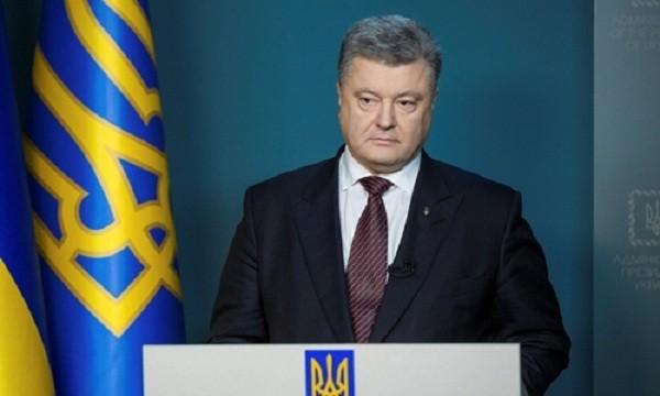 Tổng thống Ukraine Petro Poroshenko. Ảnh:Reuters.