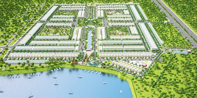 Phối cảnh Dự án Saigon Village - dự án nhà phố vườn ven sông, đang thu hút nhiều sự quan tâm của khách hàng TP.HCM do Công ty Bất động sản Danh Khôi Á Châu phân phối