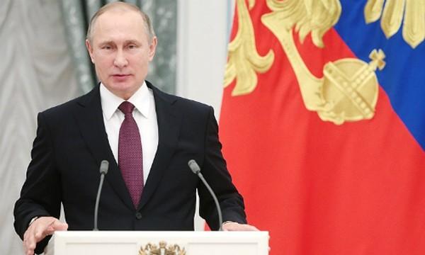 Tổng thống Nga Putin. Ảnh:Tass
