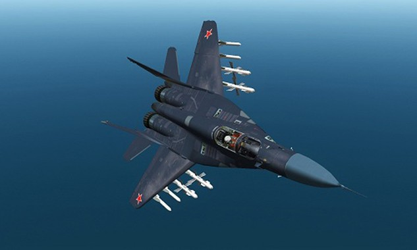Một chiếc tiêm kích MIg-29K của Nga. Ảnh:Sputnik