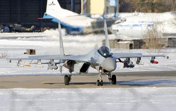 Tiêm kích Su-35S của Nga. Ảnh: RussianDebate.