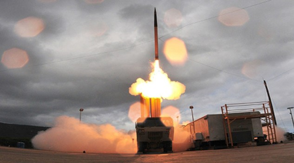 Hệ thống phòng thủ tên lửa THAAD của Mỹ. Ảnh:AFP