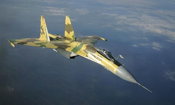 Nguyên mẫu tiêm kích Su-37 của Nga. Ảnh:Sputnik
