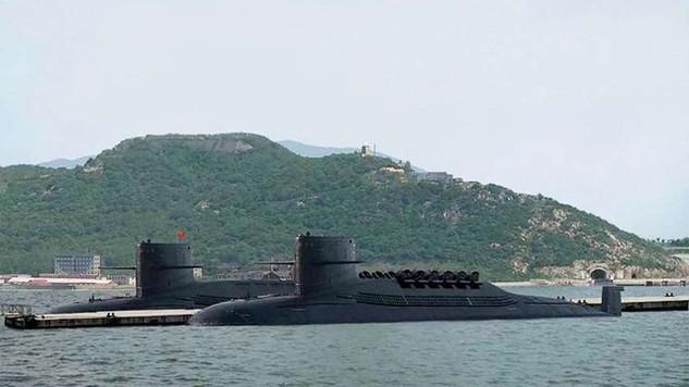 Tàu ngầm Trung Quốc. (Ảnh: SCMP)