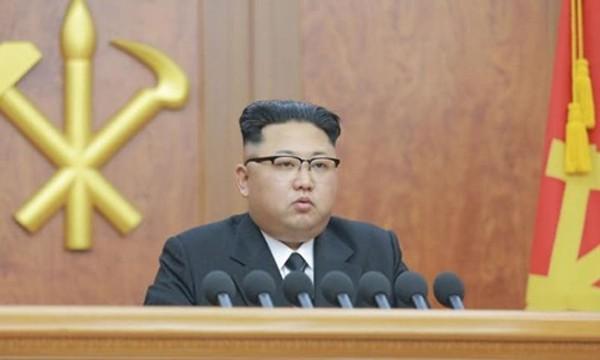 Lãnh đạo Triều Tiên Kim Jong-un. Ảnh:KCNA