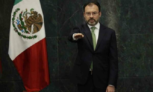 Luis Videgaray, tân ngoại trưởng Mexico. Ảnh:AP