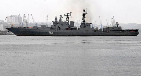 Chuyến thăm của tàu chiến Nga đã mở ra nhiều cơ hội hợp tác cho hai nước. Ảnh:Ria Novosti.