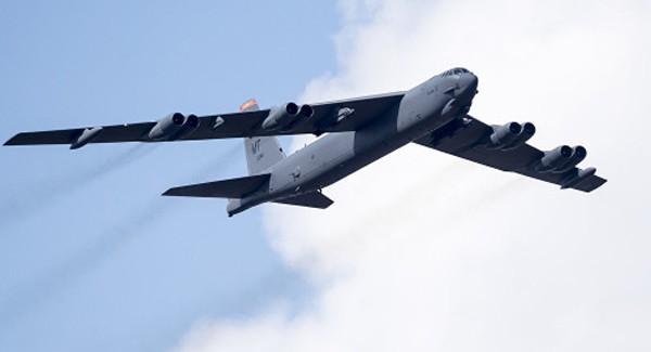 Một chiếc B-52 của Không đoàn ném bom số 5. Ảnh:Sputnik