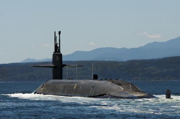Tàu ngầm USS Pennsylvania Ohio của Mỹ (Ảnh: US Navy)