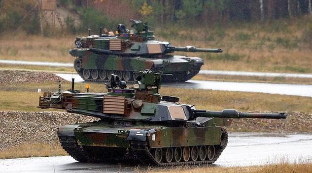 Xe tăng của Mỹ (Ảnh minh họa: Reuters)