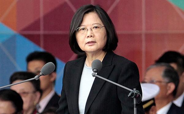 Lãnh đạo Đài Loan Thái Anh Văn. Ảnh:AP