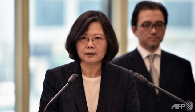 Lãnh đạo Đài Loan Thái Anh Văn. (Ảnh: AFP)