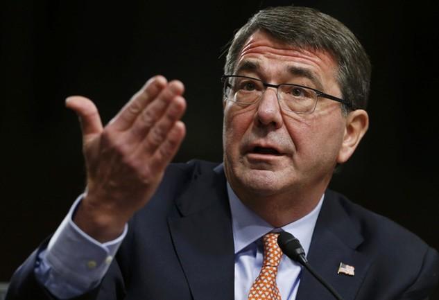Bộ trưởng Quốc phòng Mỹ Ash Carter (Ảnh: Reuters)