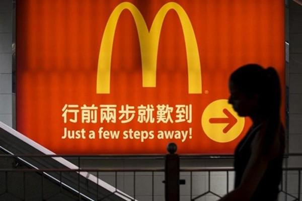 Một cửa hàng của McDonald's tại Trung Quốc. Ảnh:Reuters