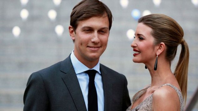 Jared Kushner, con rể Tổng thống đắc cử Mỹ Donnald Trump, và vợ là Ivanka Trump. (Ảnh: Reuters)