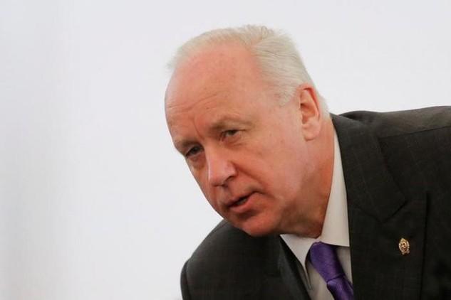 Ông Alexander Bastrykin, một trợ lý thân cận của Tổng thống Putin (Ảnh: Reuters)