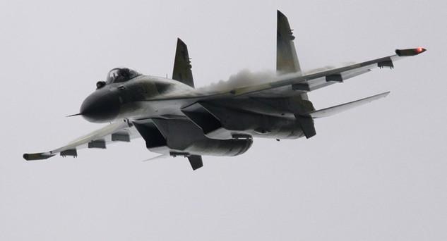Máy bay chiến đấu Sukhoi Su-35 (Ảnh: Sputnik)