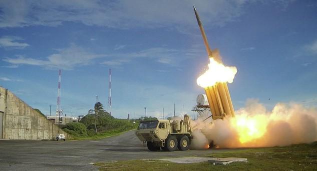 Một vụ thử nghiệm hệ thống THAAD (Ảnh: Flickr/Cơ quan phòng thủ tên lửa Mỹ)