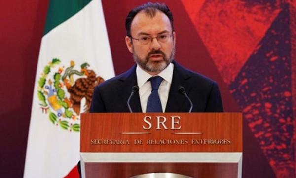 Ngoại trưởng Mexico Luis Videgaray. Ảnh:Reuters.