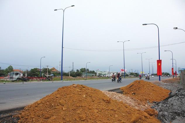 Việc đầu tư xây dựng tuyến đường kết nối từ đường Bùi Hữu Nghĩa đến Quốc lộ 1K thuộc trách nhiệm của tỉnh Đồng Nai. Ảnh: Tiên Giang
