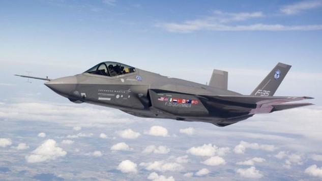Một máy bay chiến đấu tàng hình F-35 (Ảnh: Lockheed Martin)