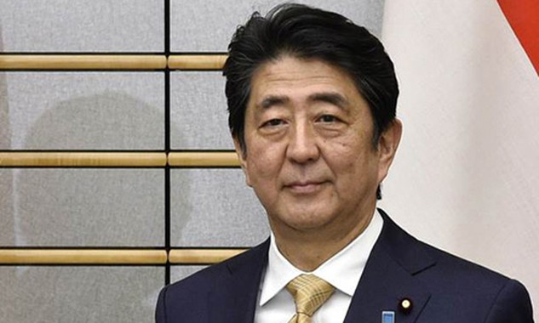 Thủ tướng Nhật Shinzo Abe. Ảnh:AFP