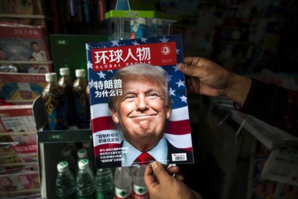 Lập trường cứng rắn của ông Trump có thể gây chiến tranh thương mại. Ảnh:AFP