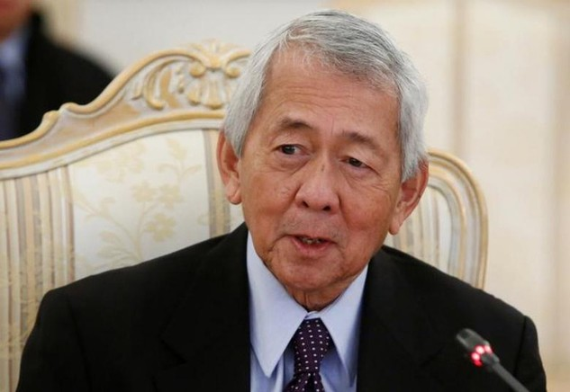 Ngoại trưởng Philippines Perfecto Yasay (Ảnh: Reuters)