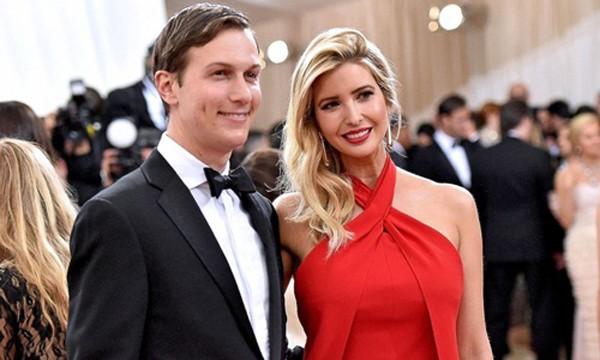 Hai vợ chồng Ivanka Trump và Jared Kushner. Ảnh:AFP