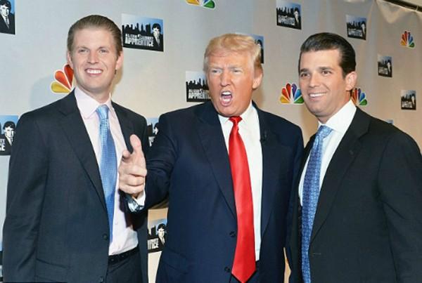 Ông Donald Trump sẽ giữ nguyên cổ phần của mình và giao quyền điều hành Trump Organization cho hai con trai lớn.