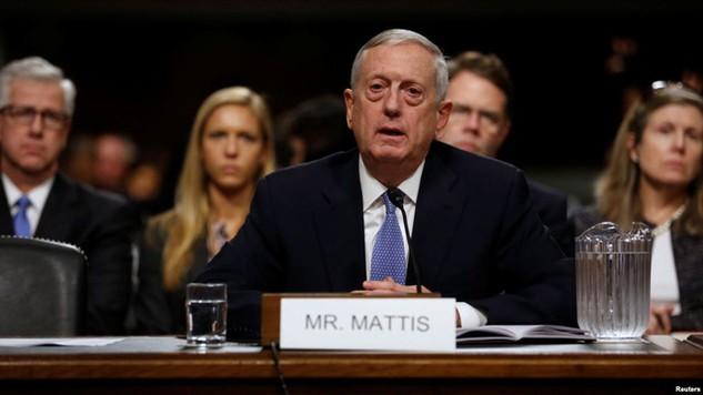 Tướng về hưu James Mattis, người được đề cử làm Bộ trưởng Quốc phòng trong chính quyền sắp tới của Tổng thống đắc cử Donald Trump. (Ảnh: Reuters)