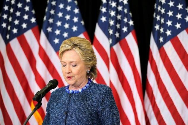 Cựu ứng viên tổng thống đảng Dân chủ Mỹ Hillary Clinton. (Ảnh: Reuters)