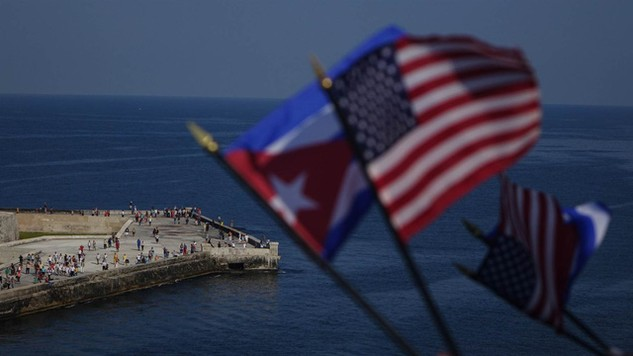 """Chính sách """"chân ướt, chân ráo"""" áp dụng với người nhập cư Cuba được Mỹ chấm dứt sau 2 thập niên. (Ảnh minh họa: NBC)"""