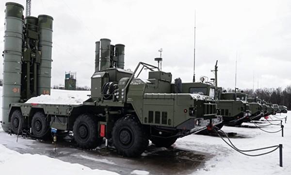 Hệ thống S-400 Triumf. Ảnh:Sputnik.