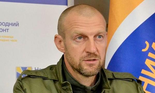 Nghị sĩAndrew Teterukthuộc đảng Mặt trận Dân tộc Ukraine. Ảnh:True news